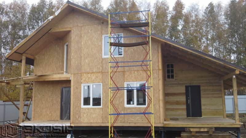 Дом сип панелей