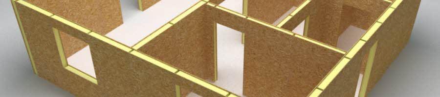 Строительство домов и коттеджей из SIP панелей